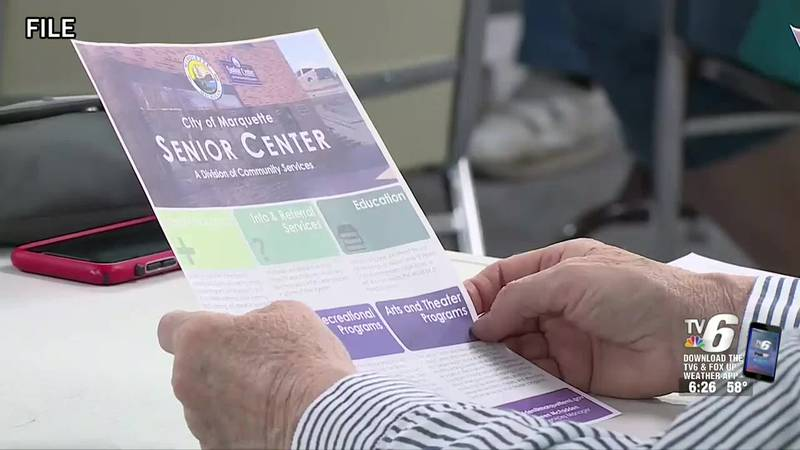 Maureen McFadden, Senior Services Manager at the Marquette Senior Center, explains why the...