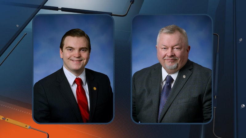 Michigan State Representatives Beau LaFave (R-108th District) and Greg Markkanen (R-110th...