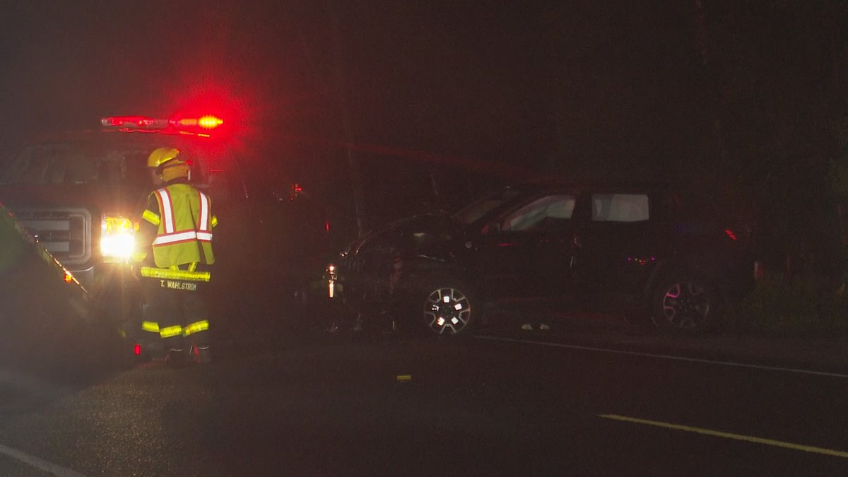 2 separate traffic crashes in Sands Township