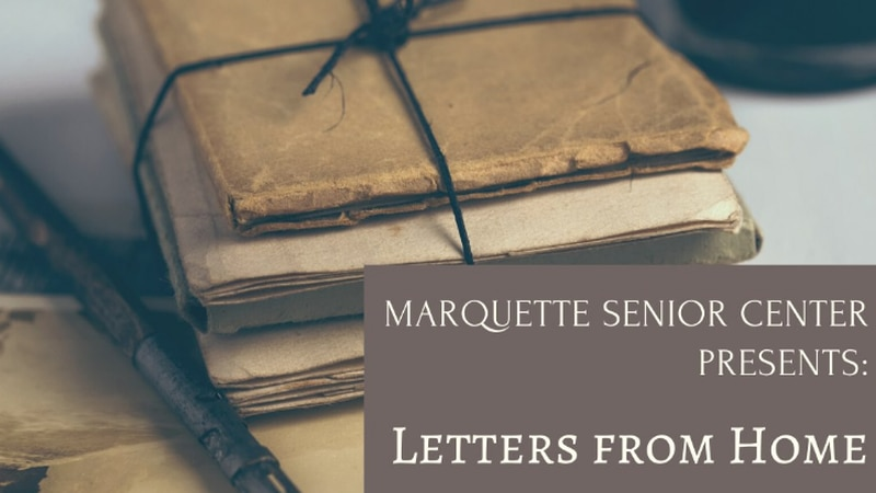 The City of Marquette's Letters From Home Project