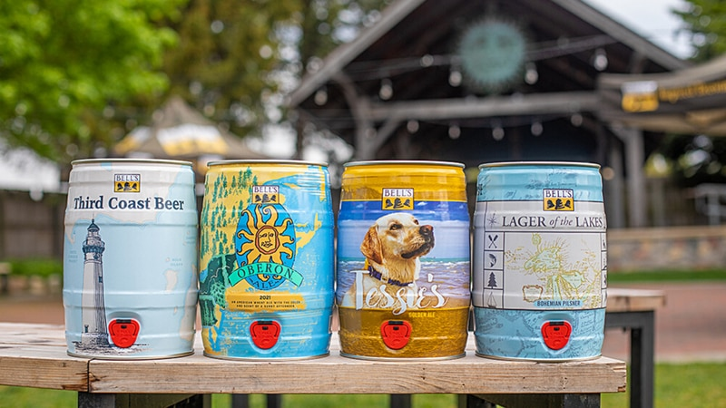 Bell's Brewery Mini-Kegs for Causes for 2021.