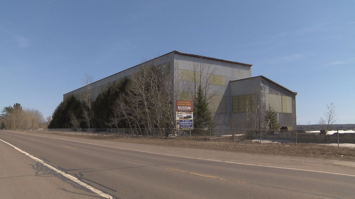 C & H Mineral Building in Hubbell as seen in April 2018. (WLUC File Photo)