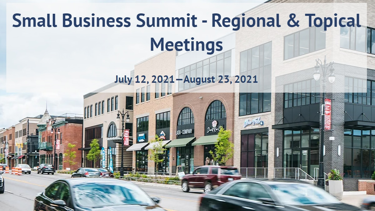 Image from the Michigan Small Business Summit website.