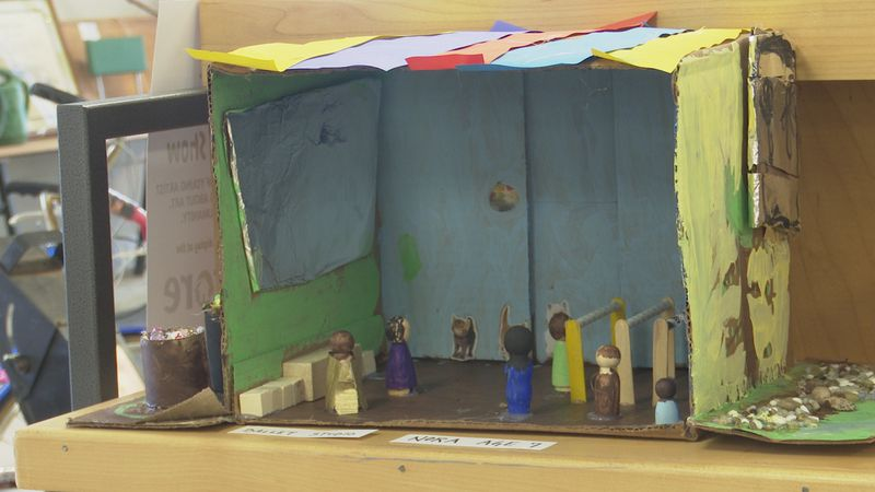 The artwork, done by 4-10 year old's, will be displayed in Habitat for Humanity ReStore through...