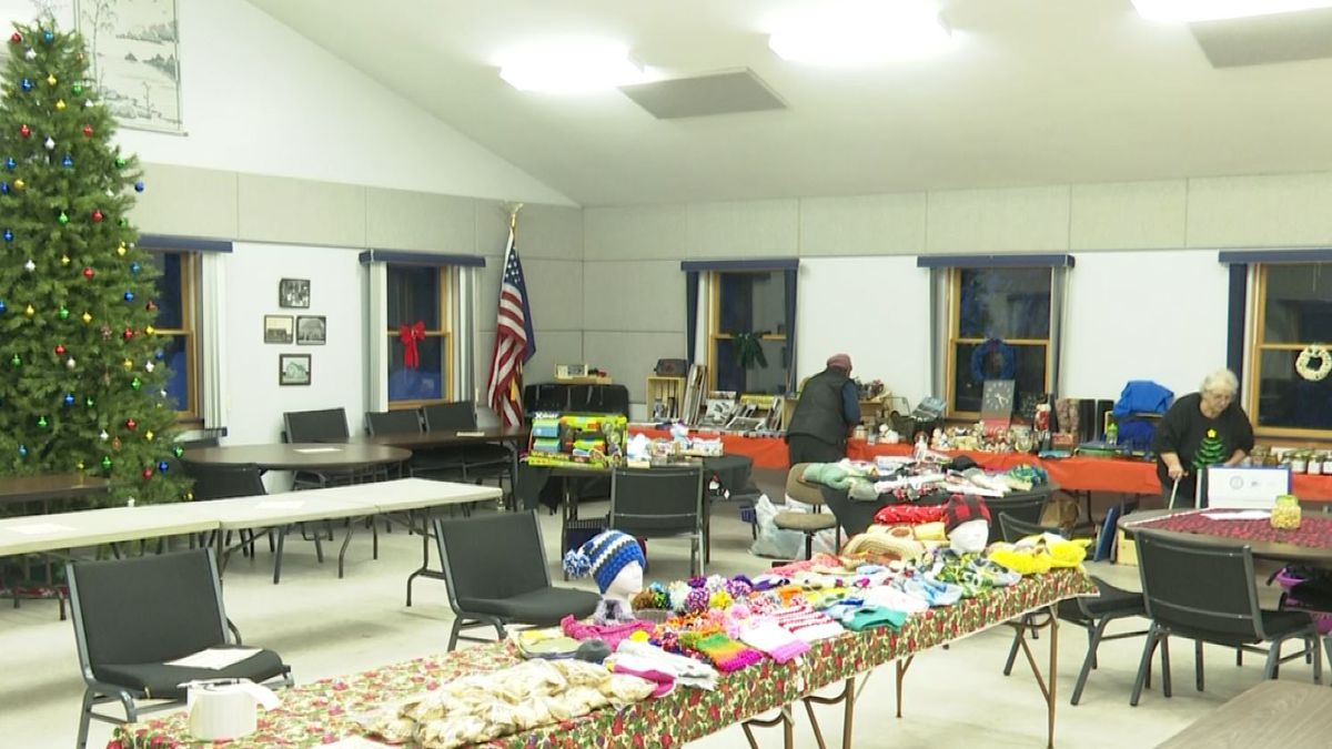 The event takes place from 9 a.m. - 6 p.m. Saturday Dec. 14 at the Humboldt Township Hall.