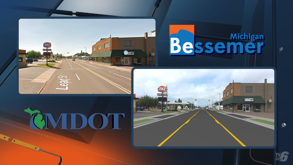 The Michigan Department of Transportation and the City of Bessemer are rebuilding US-2 in...