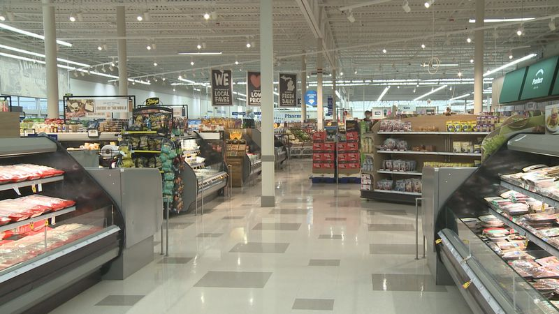 A steady stream of customers walked through the aisles Thanksgiving morning to pick up...